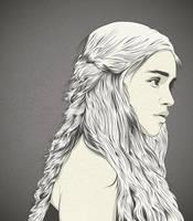 Daenerys Targaryen by craniodsgn