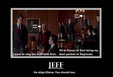 You should ship Klaine. by GleekAttack