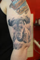puppy by SimplyTattoo