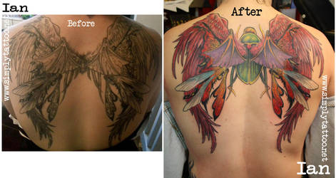 wings fixer upper by SimplyTattoo