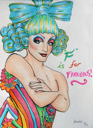 F is for Fabulous by forestfruits1