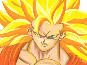 Goku  by EmiPastrana