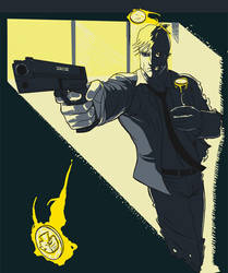 Two face by handsomeape