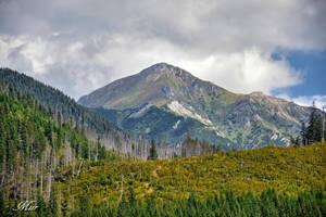 Mountain peak by miirex