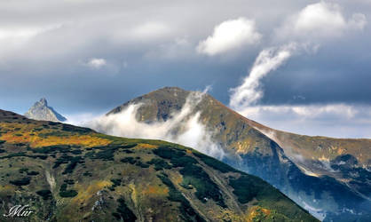 Mountains peaks. by miirex