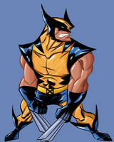 Wolvie sketchy by krissthebliss