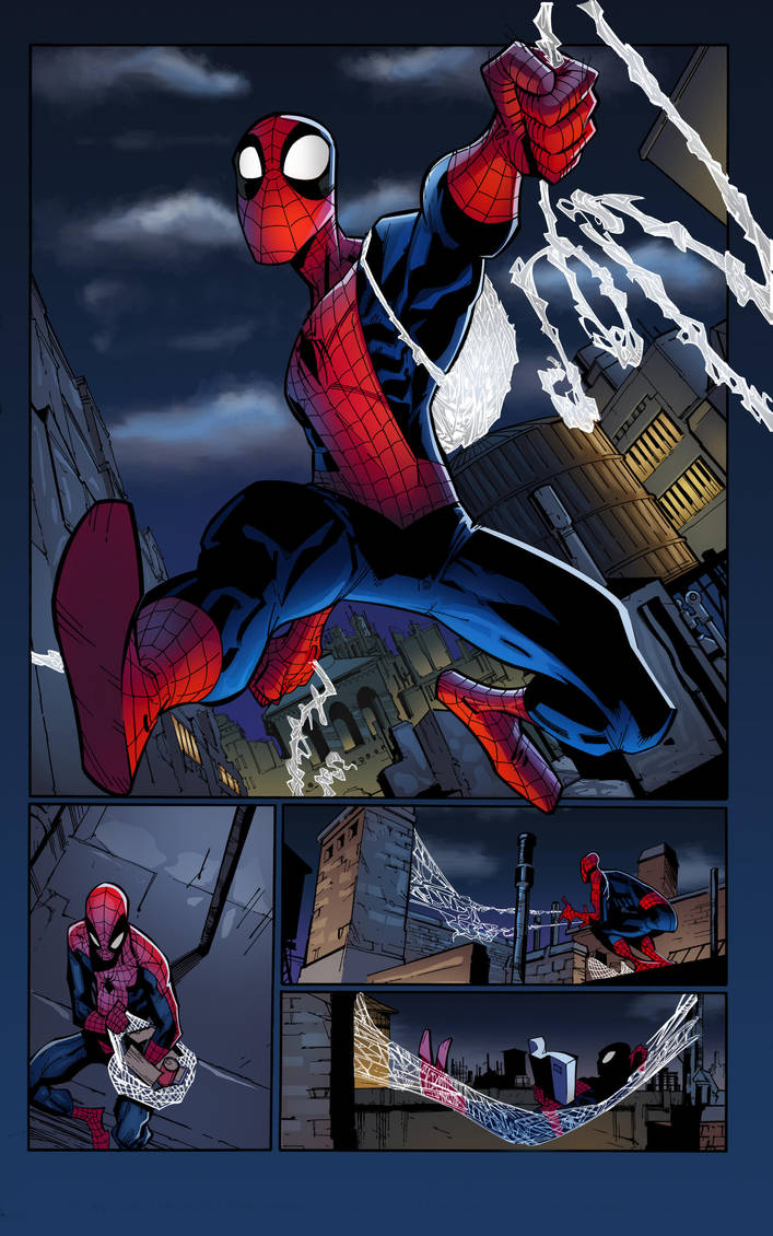 Spidey Page 3 by krissthebliss