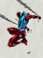 Scarlet Spider by krissthebliss