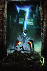 Stitchpunk is Magic  -  7/9  -  Rainbow Dash by Kaidrin1