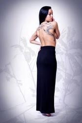 Black skirt (2) by illusi0n-stock