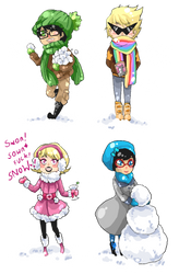 Winter time with Alpha Kids by MMtheMayo