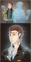 :TFTBL: Rhys and Handsome Jack by MMtheMayo