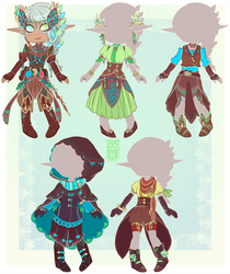 :Comm: Outfits for Niamh by MMtheMayo