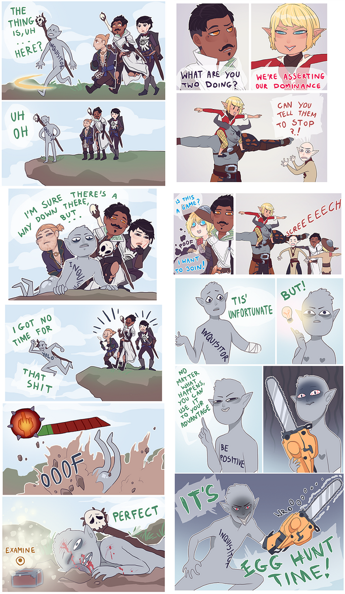 : Dragon Age : doodle dumppppp by MMtheMayo