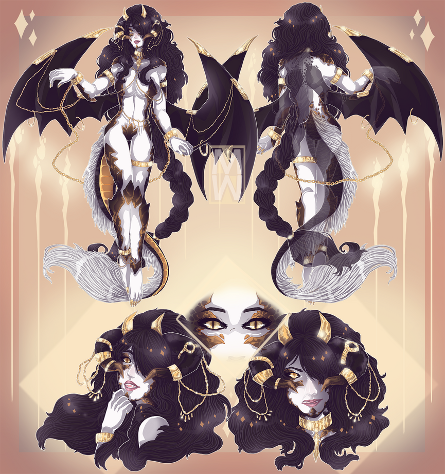 :Comm: Dragon Lady by MMtheMayo