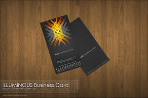 ILLUMINOUS Business Cards by FSDown