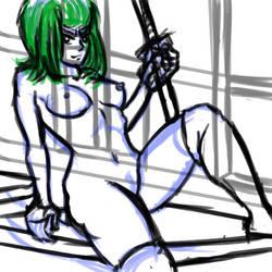 Sketch-a-Day:Satsuki by Renegade-Perception