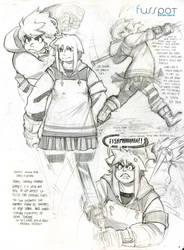 'Heavy' Hero II by fusspot