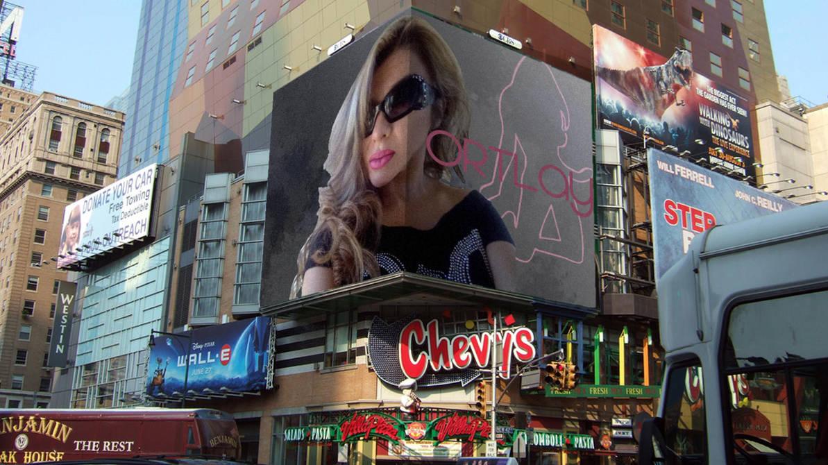 Ortlay Billboard Broadway by inktechpatrick