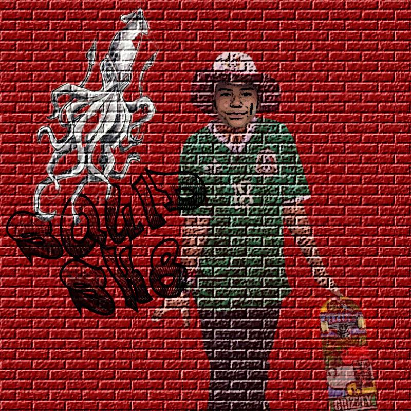 Squid Brick Anthony by inktechpatrick