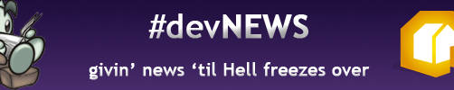 devNEWS Support Banner by TimberClipse