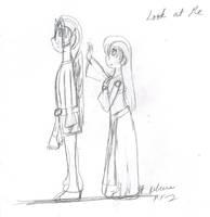 KristenxNorthar - Look at Me by Kitsune-Fox17