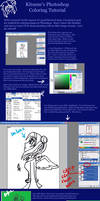 Photoshop Coloring Tutorial 1 by Kitsune-Fox17
