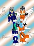 FDD - Fox Sisters by Kitsune-Fox17