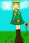 Virgo's Flowers by Kitsune-Fox17