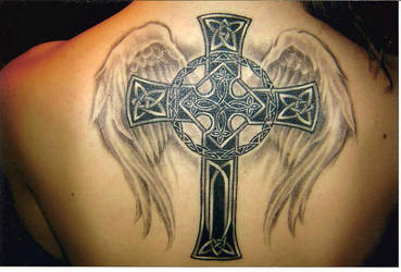 Celtic Cross Tattoo Bre's by willsketch