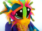 Rainbow Skittles Dragon Pup by Tanglewood-Thicket