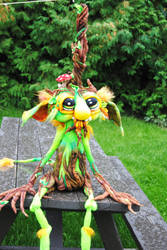 Root Goblin by Tanglewood-Thicket
