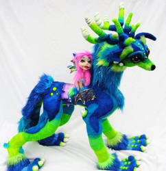 Full Wolf DragonWolf dRAGON AND wOLF pixie by Tanglewood-Thicket