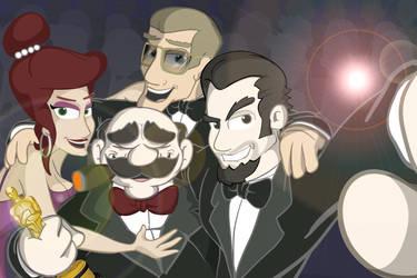 Cartoon Selfie! by Malfuriion