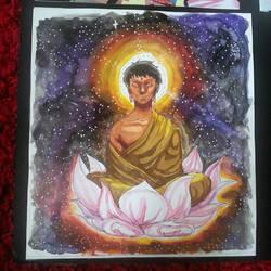 Lotus Buddha by Space-Miilk
