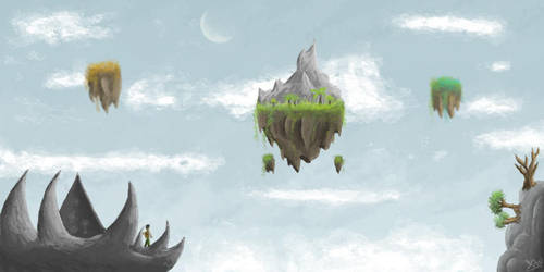 exploring skylands by skyice