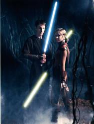 Bastila Shan and Jedi #2 by Staraya
