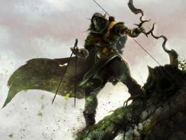 Elvish archer by DavidAlvarezArt