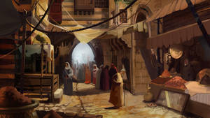 Assassin's Creed Revelations - Jaffa by DavidAlvarezArt