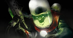 Dr Skull Portrait by DavidAlvarezArt