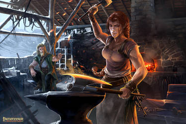 Pathfinder Unchained : CraftingWorkshop by DavidAlvarezArt
