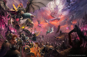 Warhammer /// Realmgate wars - All gates by DavidAlvarezArt