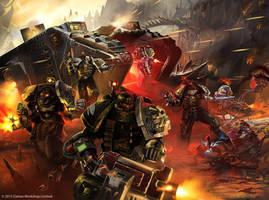 Warhammer /// Deathwatch Codex by DavidAlvarezArt