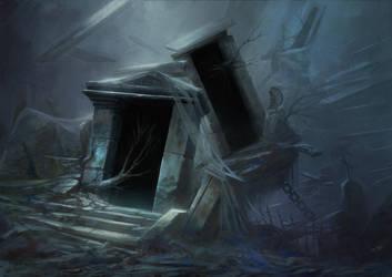 Black Portal by DavidAlvarezArt