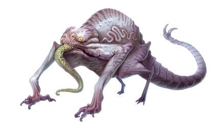 Chameleon by DavidAlvarezArt