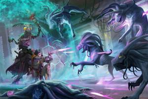 Dead Suns - Adventure path 01 - Starfinder by DavidAlvarezArt