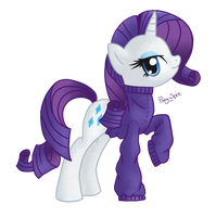 Rarity by Pony-Spiz