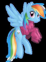 Rainbow Dash by Pony-Spiz