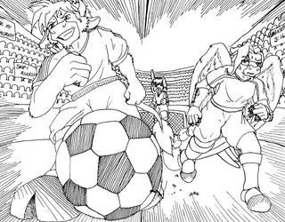 Soccer Bull by UmaKami