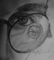 harry and dumbledore by AlyssiaJayde